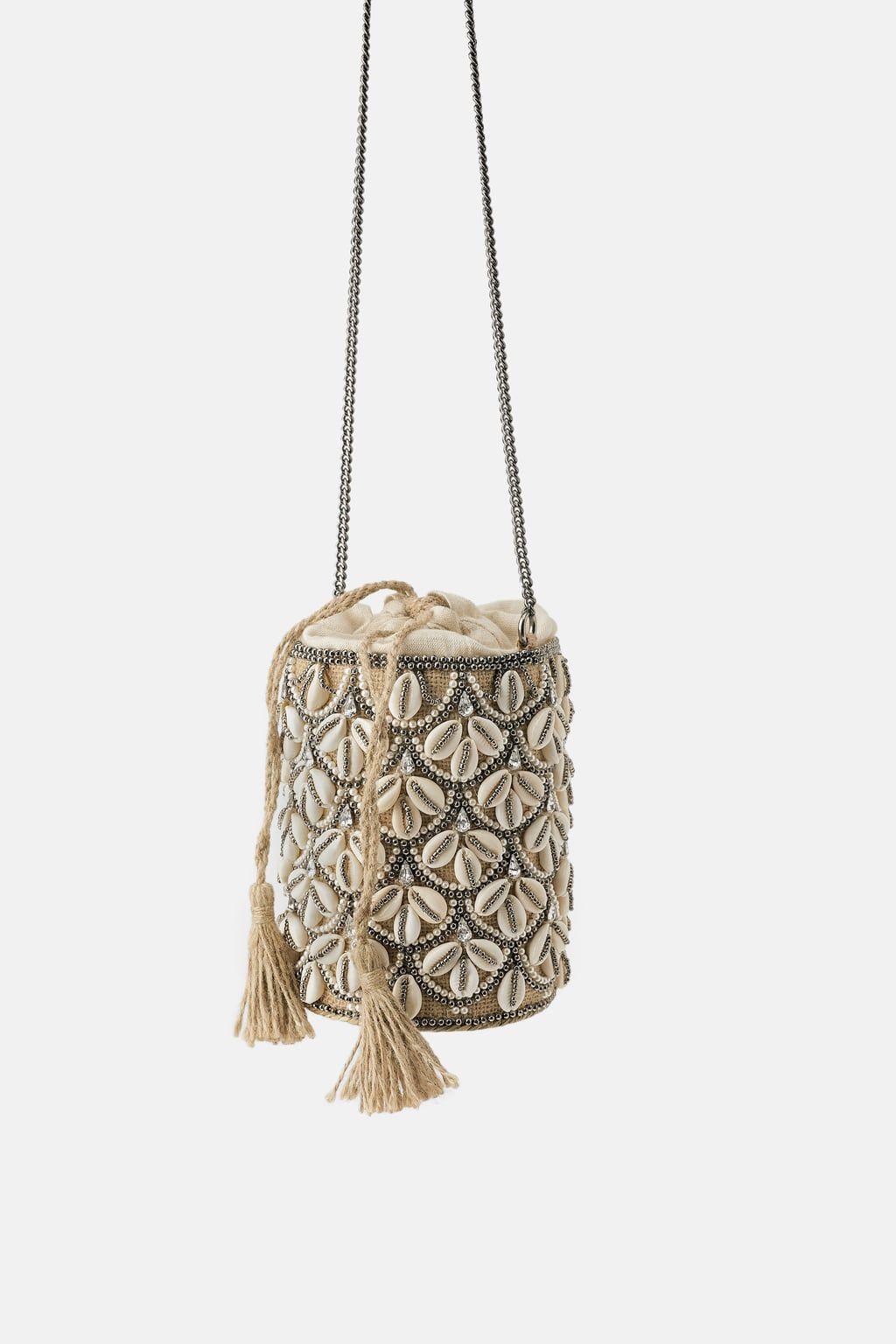 f03f21e1e Seashell crossbody basket bag in 2019 | To buy | Basket bag, Bags ...