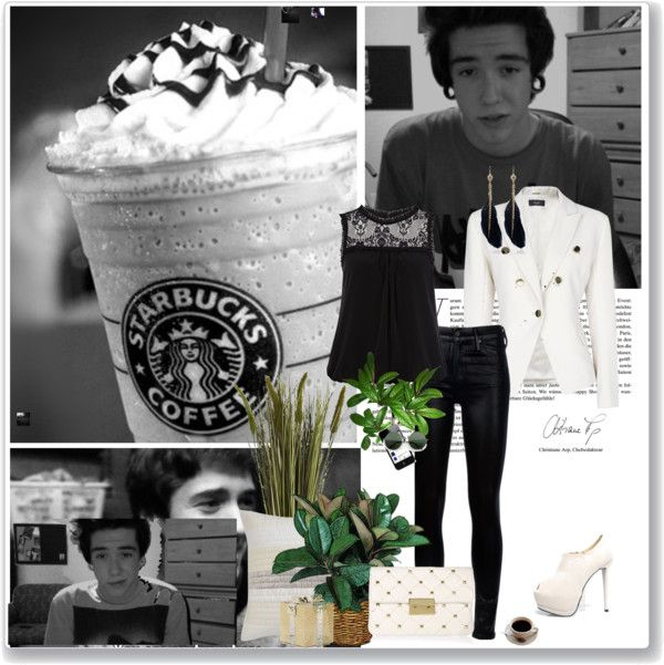 """""""See My Life In Black And White V"""" by marie-hsmtp-latigable ❤ liked on Polyvore"""