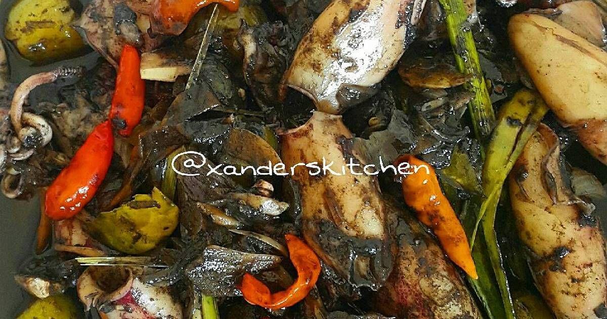 Resep Pindang Cumi Hitam Oleh Xander S Kitchen Resep Resep Makanan Tips Memasak