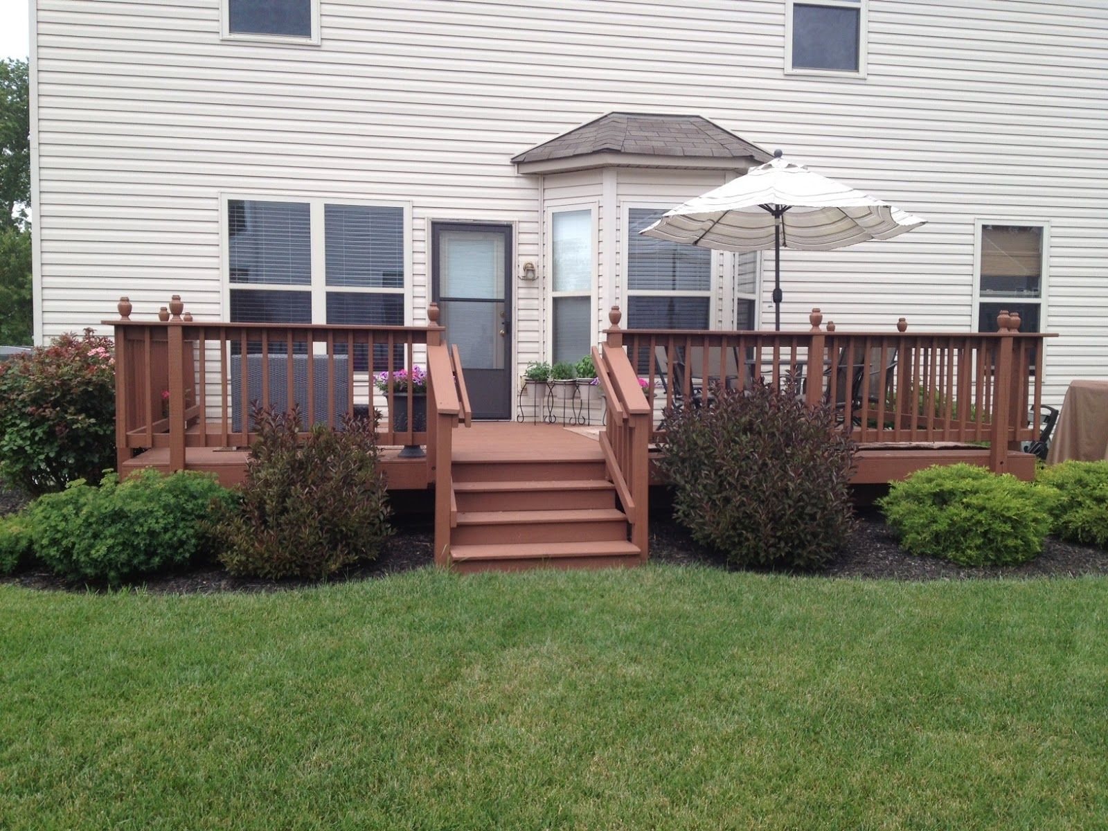 Image Result For Landscaping Ideas Around Deck Posts Landscaping