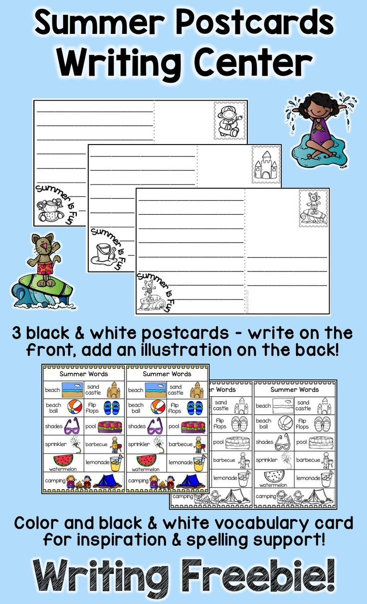 Keep kids engaged in writing right up until summer vacation with ...
