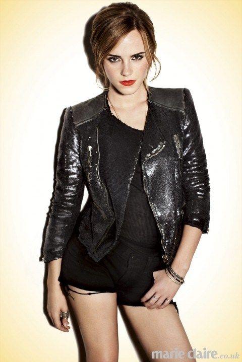 Emma Watson Marie Claire UK Feb 2013 by Alex Lubomirski