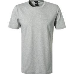 Photo of Boss men's t-shirt, regular fit, cotton, light gray heather Hugo Boss
