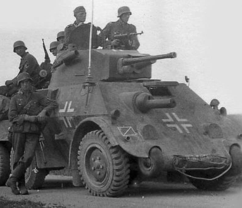 daf pantserwagen ex Nederlands leger 1940 | German WWII