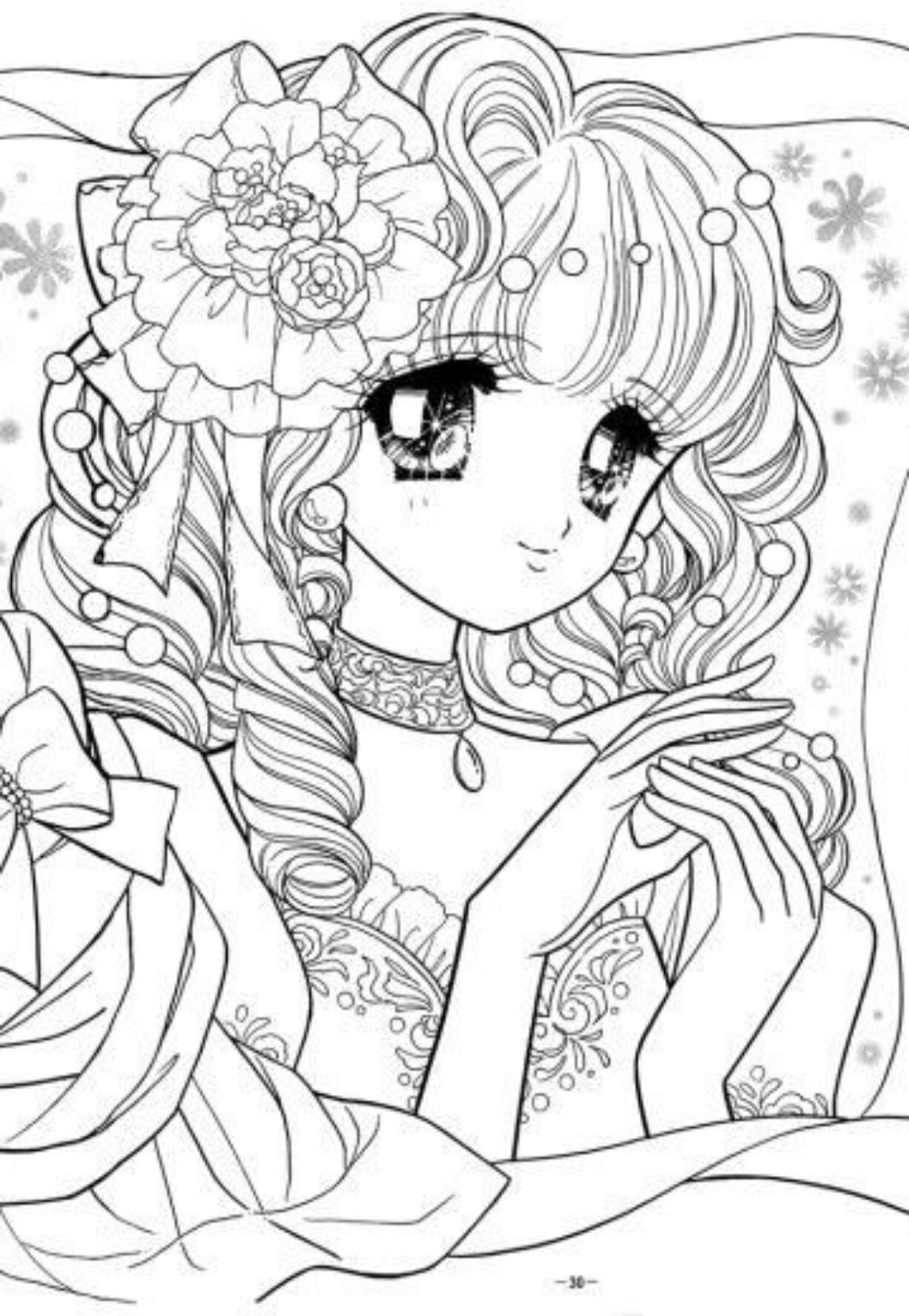 Pin By Tien Trinh On Thơ Coloring Pages Anime Anime Lineart Anime Coloring Pages