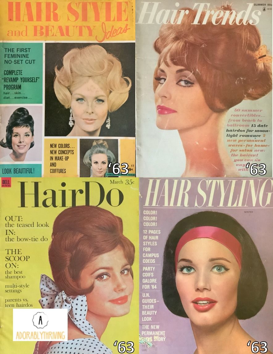 1960 S And 1970 S Vintage Hair Magazines In 2020 Hair Magazine Vintage Hairstyles Summer Hair Trends