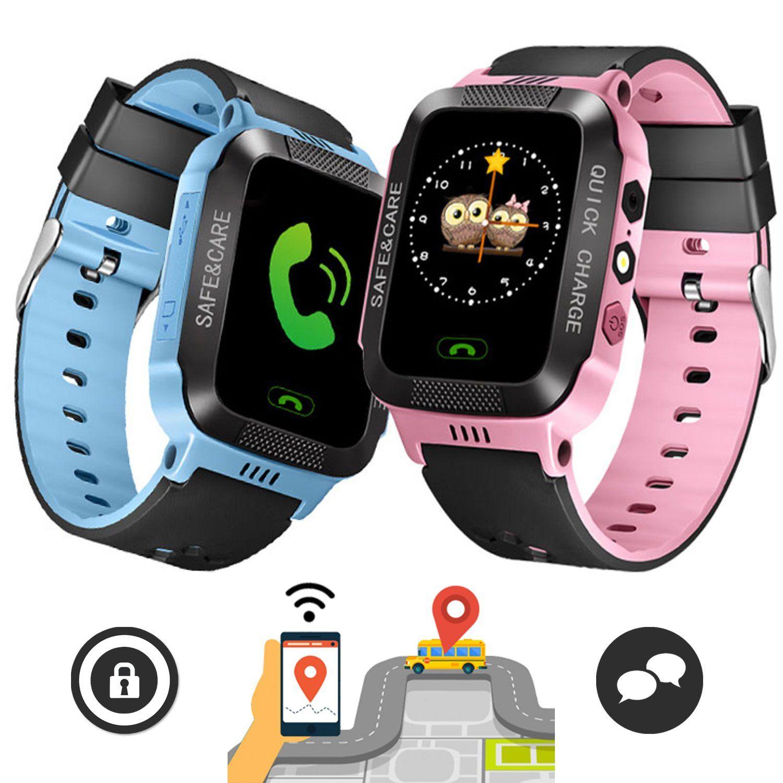 Montre GPS Connectée de Sécurité Enfants Montres gps
