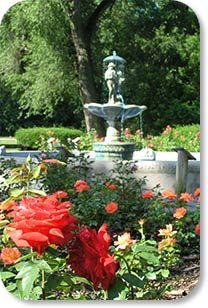E.G. HIll Memorial Rose Garden
