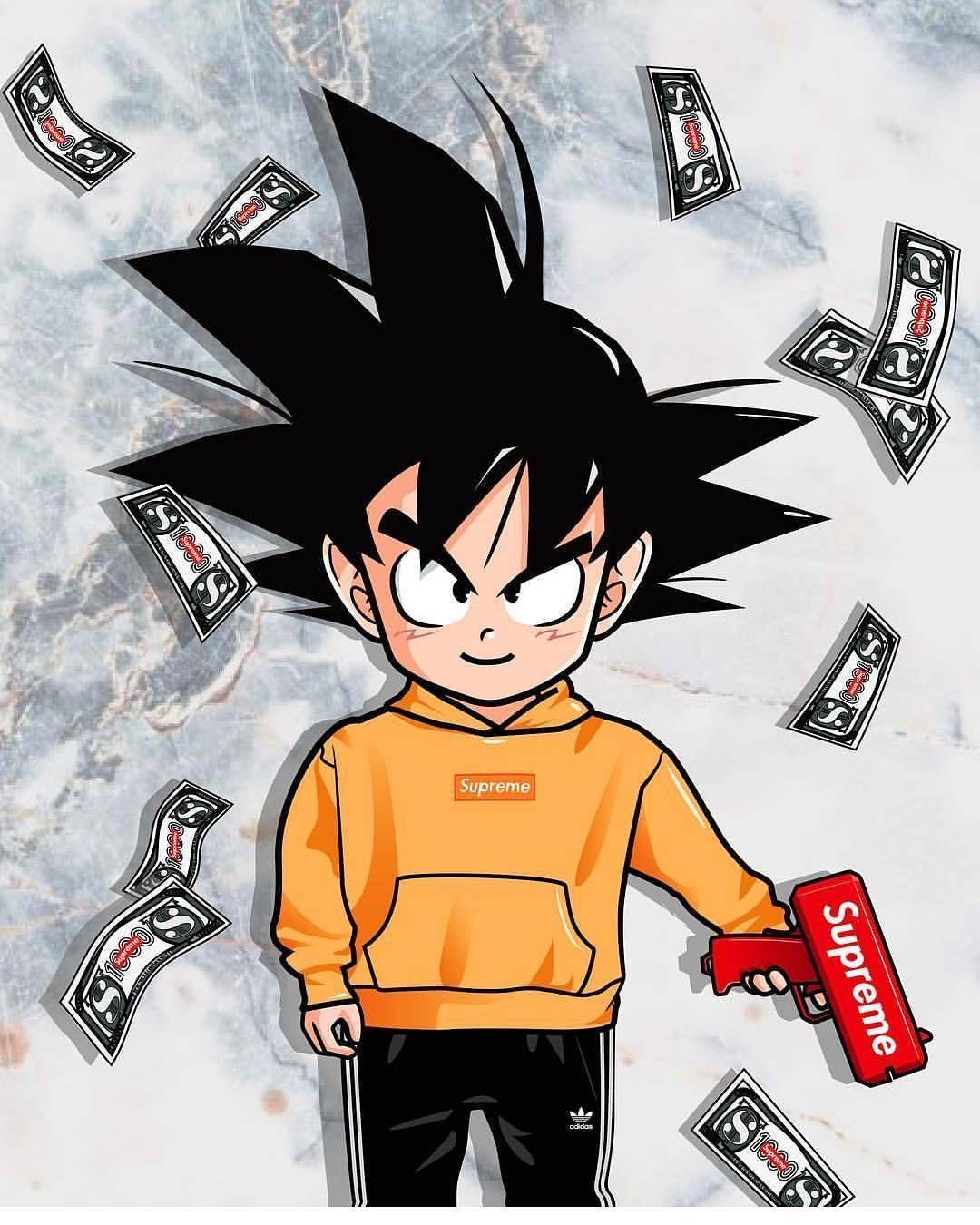 Goku Turnt Up Bellxyn Cultureandvibes Goku Wallpaper Anime Wallpaper Cartoon Wallpaper