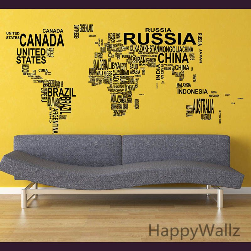 World map wall sticker map of the world wall decal 3d modern world map wall sticker map of the world wall decal modern wallpaper map wall decal decorating modern decor patio aliexpress affiliates pin gumiabroncs Image collections