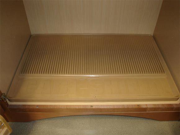 Mr Cabi Shield Protective Cabinet Mat Prevents Mold Prevents
