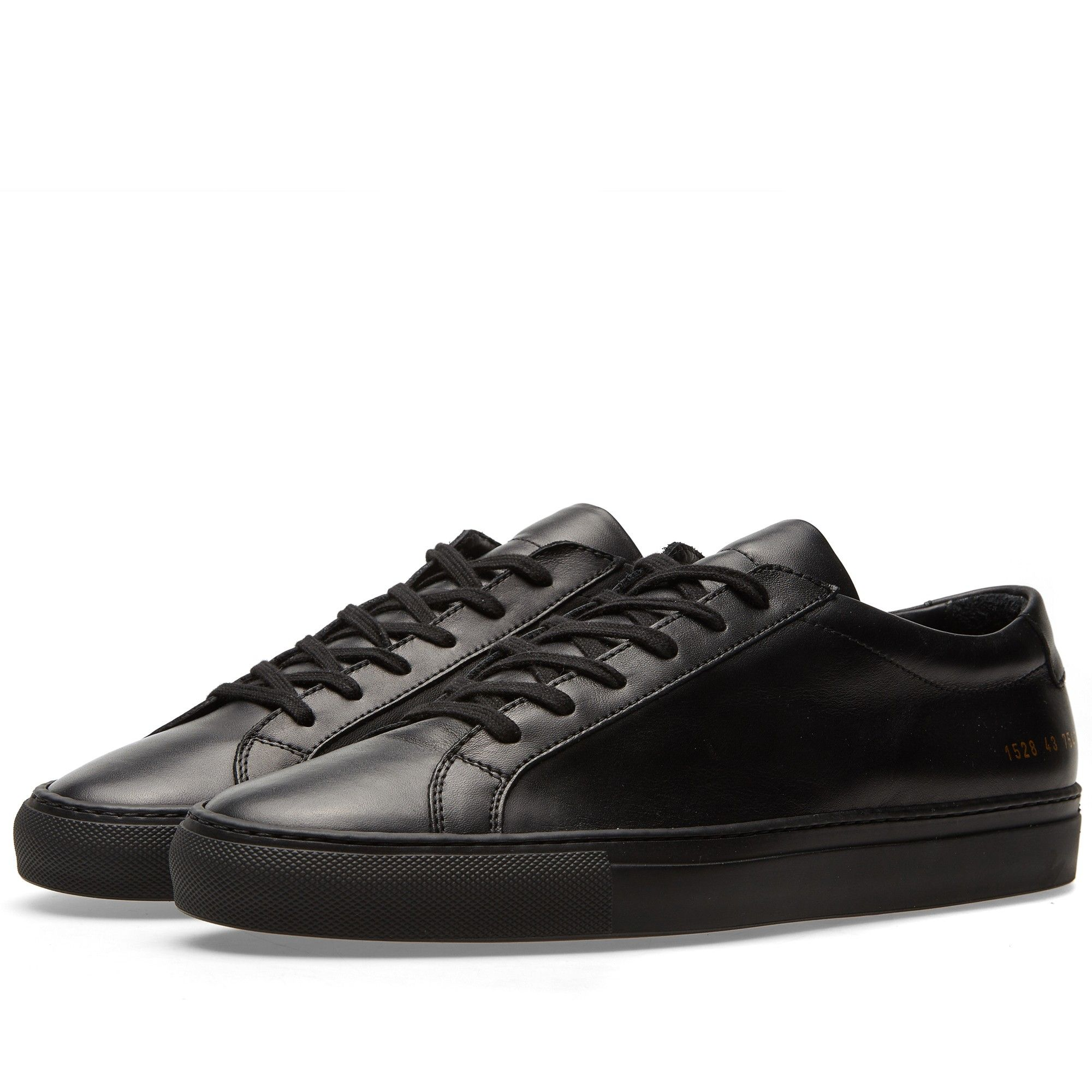 Common Projects Original Achilles Low (Black)