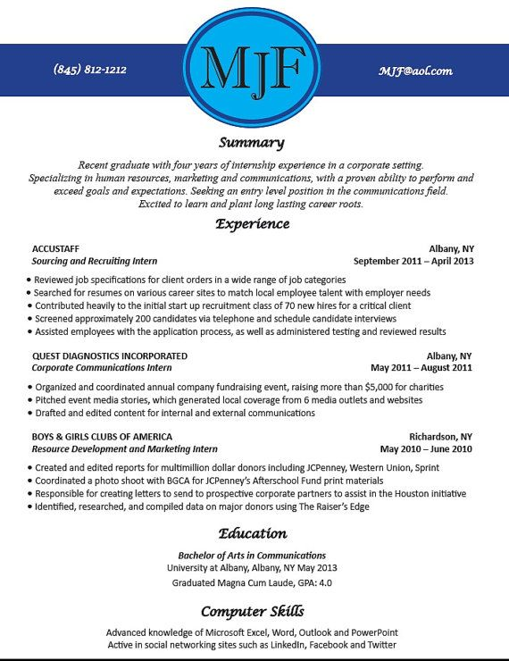 Writer Resume Custom Resume Writing  Creative Resume Design  Job Search  Resume .