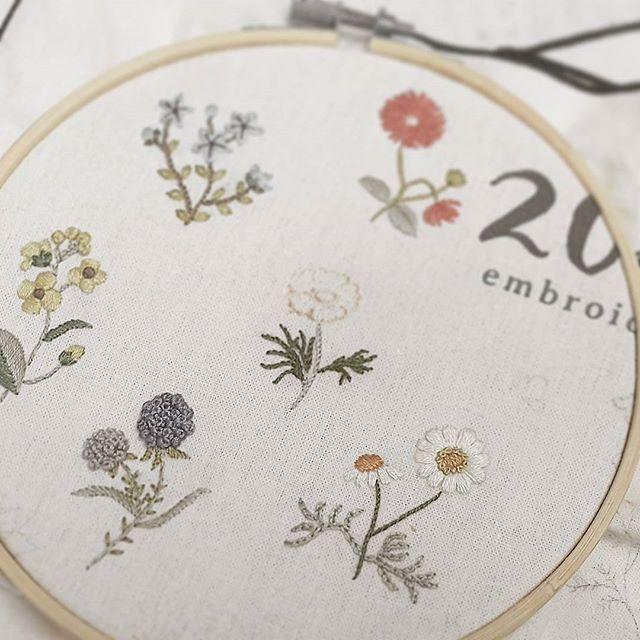 WEBSTA @ maro_embroidery - 드디구낭이거.#자수나무 #프랑스자수