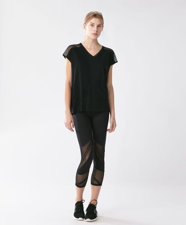 legging pantacourt leggings tendances printemps t. Black Bedroom Furniture Sets. Home Design Ideas