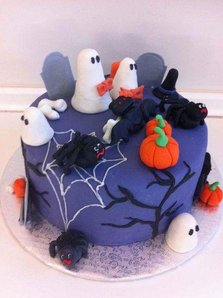tarta halloween para niños - Buscar con Google