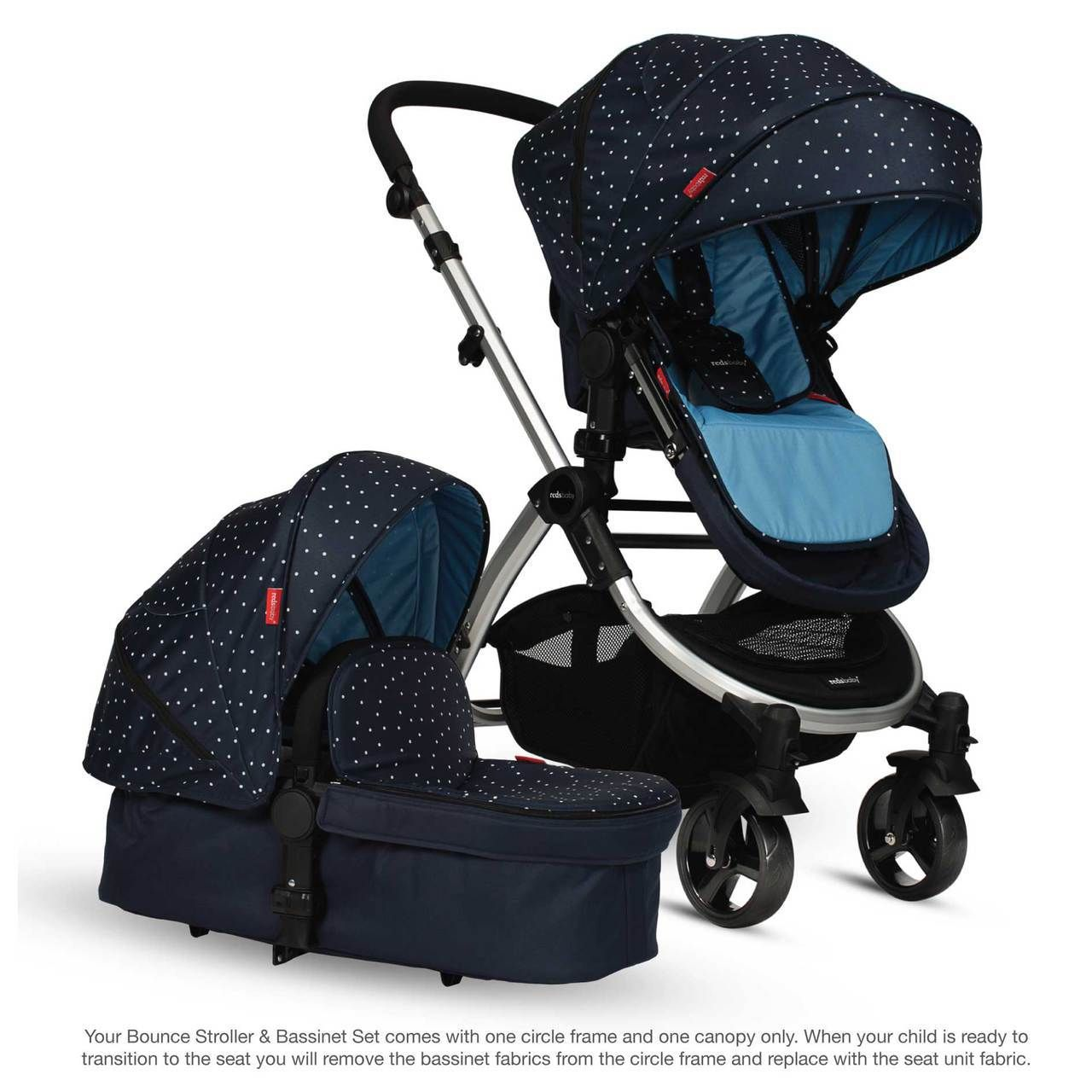 Bounce Stroller & Set 2016 (Blue Stardust