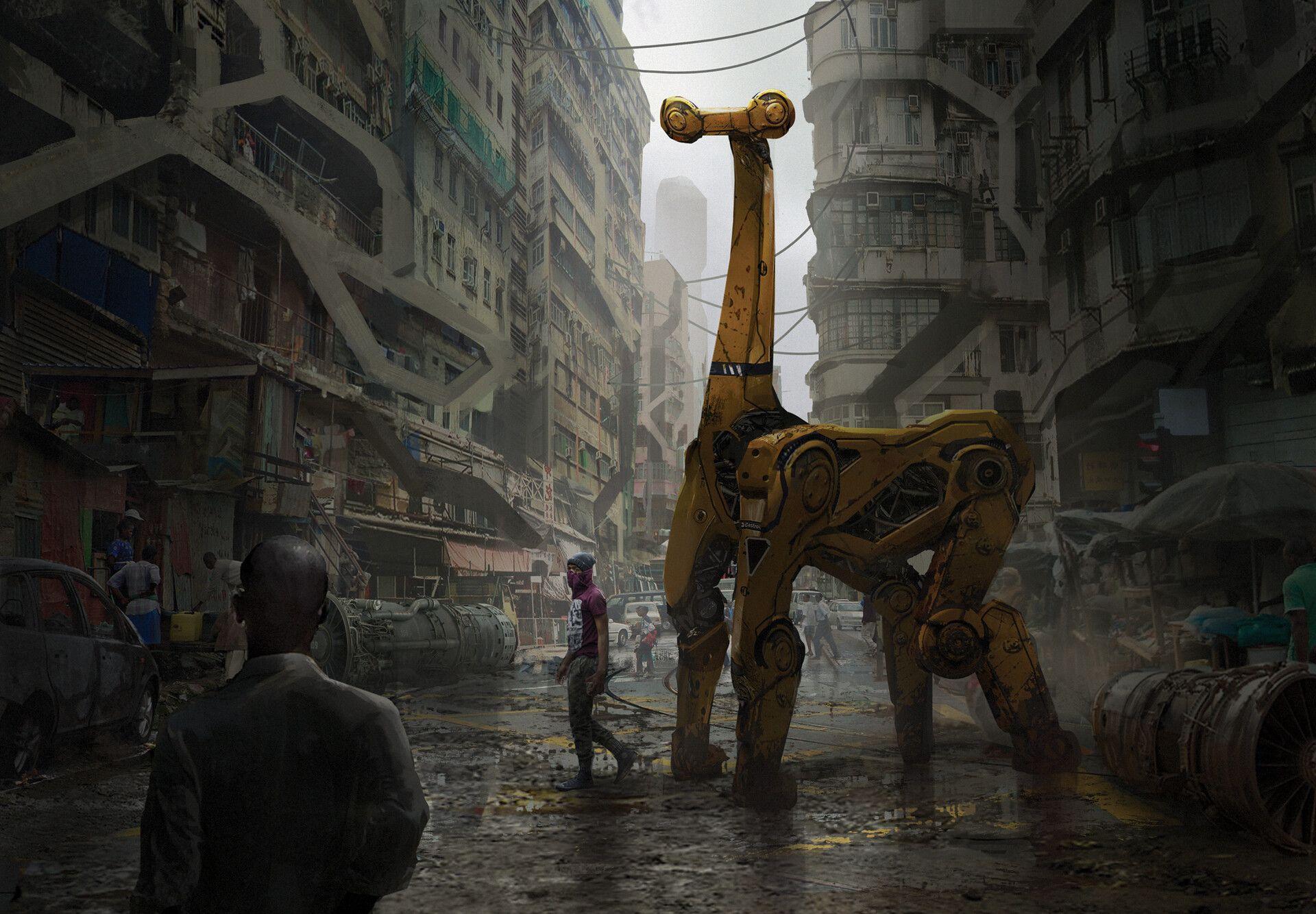 Pin by REINI ROJAS on CYBERPUNK Concept art, Cyberpunk