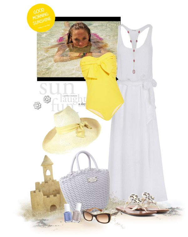 """A Summer Place"" by easystyle ❤ liked on Polyvore"