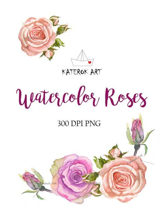 Watercolor Cliparts Watercolor Png Watercolor Flowers Watercolor