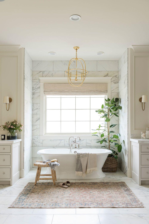 Cove Remodel Master Suite Studio Mcgee Master Bathroom Bathroom Transformation Bathroom Decor