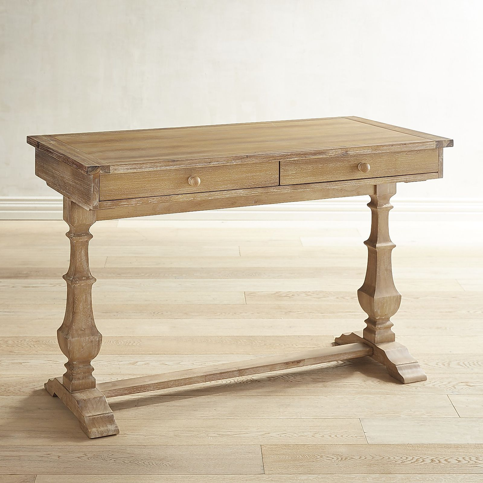Bradding Natural Stonewash Desk | Pier 1 Imports
