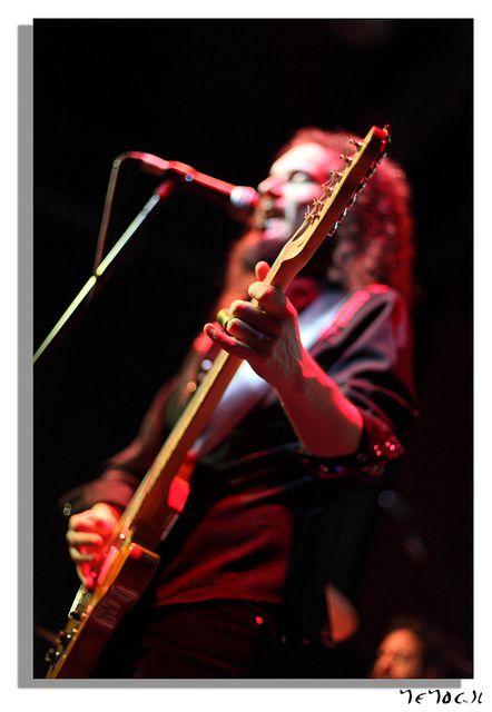 Demian Dominguez...  Demian Band... Barcelona, Julio 2012
