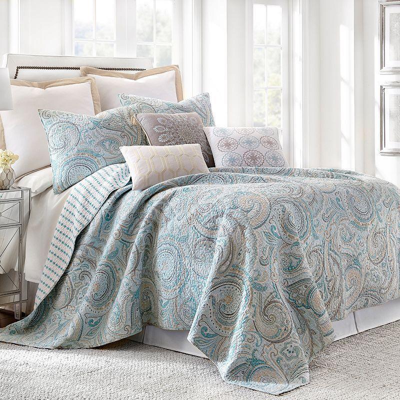 Spruce Spa Quilt Set, Blue Quilt sets bedding, Quilt