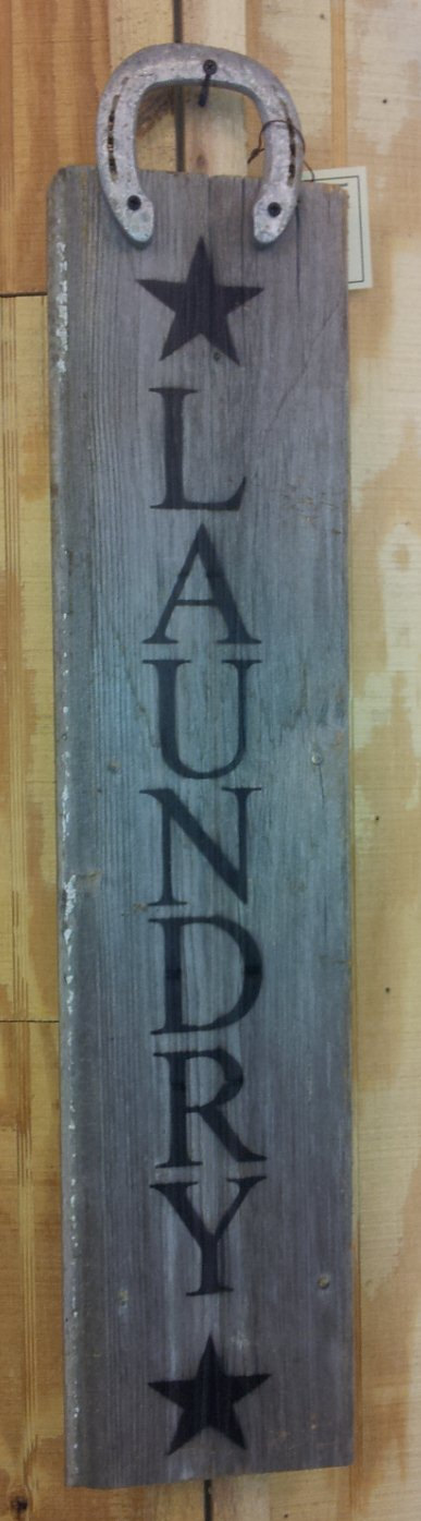 Rustic Laundry Sign Repurposed Barnwood Sign with by VictoryBarn