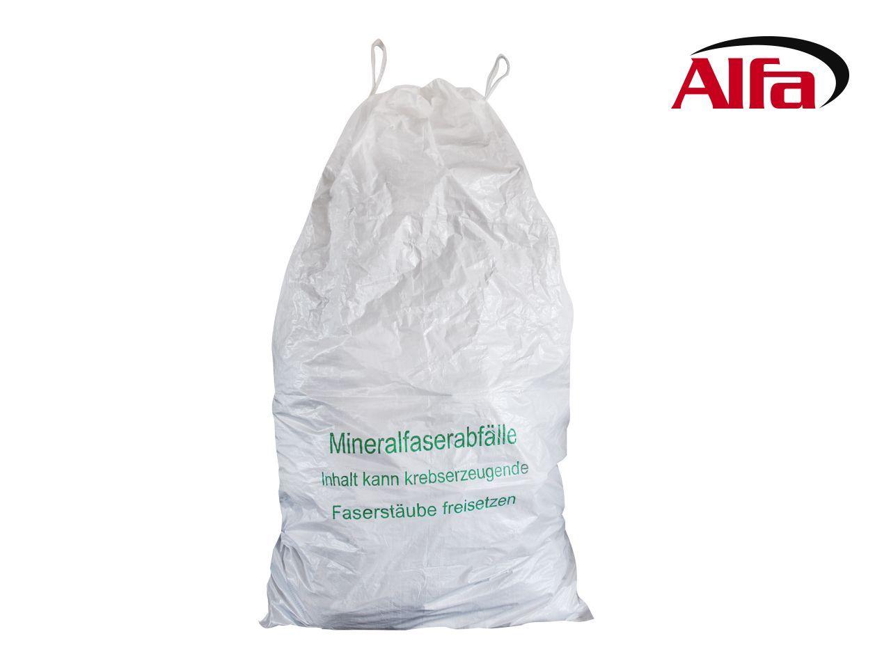 927 Alfa Mineralwollsack Mit Hebeschlaufen Mit Bildern Mineralien Sackchen Abfall