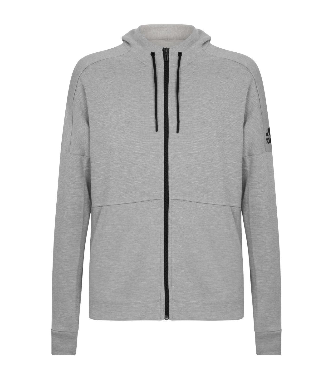 Predownload: Adidas Originals Id Stadium Zip Up Hoodie In Grey Modesens Zip Ups Adidas Design Hoodies [ 1592 x 1400 Pixel ]