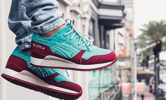 nouveau style 0e188 79731 Asics Tiger Gel Lyte III Spectra Green | Sneakers | Asics ...