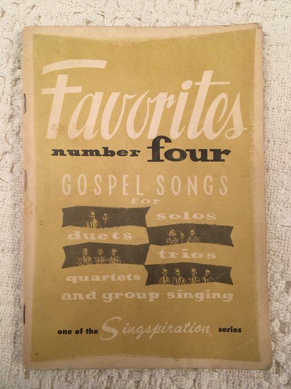Old Gospel Songs, Old Sheet Music, Vintage Sheet Music, Vintage Books, Old Books, Music Books #vintagesheetmusic