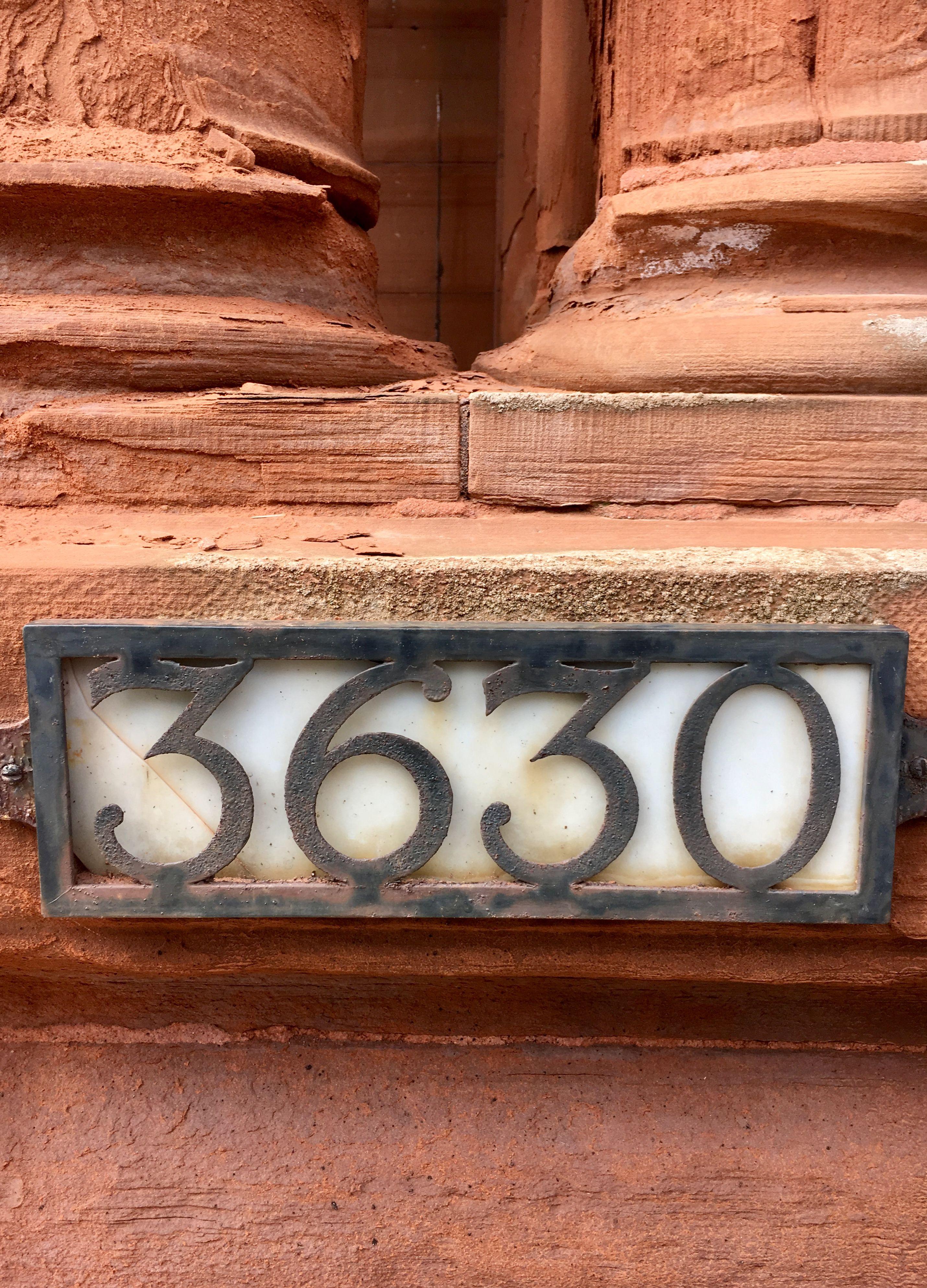 3630 Montréal Numéros de portes