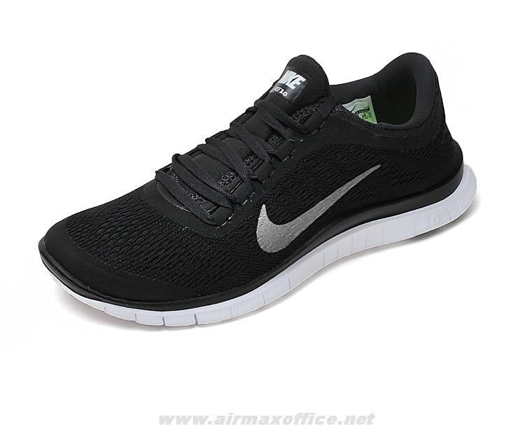 Nike Women's Flex 2012 Run BlackMetallic Silver White