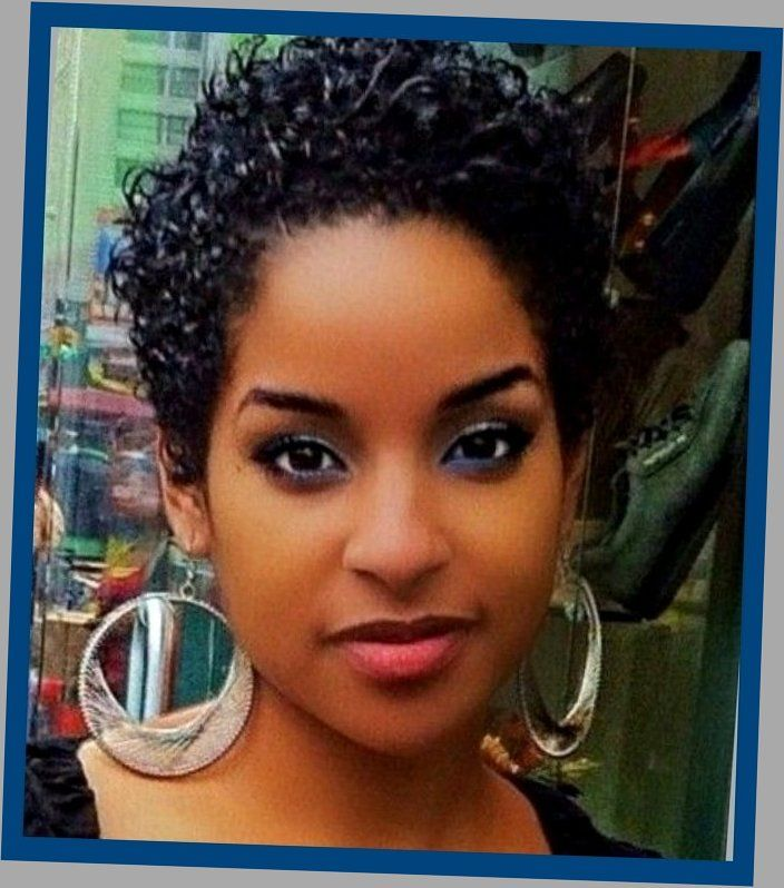 20 Short Hairstyles For Black Women That Wow The Style News Network Short Permed Hair Natural Hair Styles Short Natural Hair Styles Curly Hair Styles Naturally