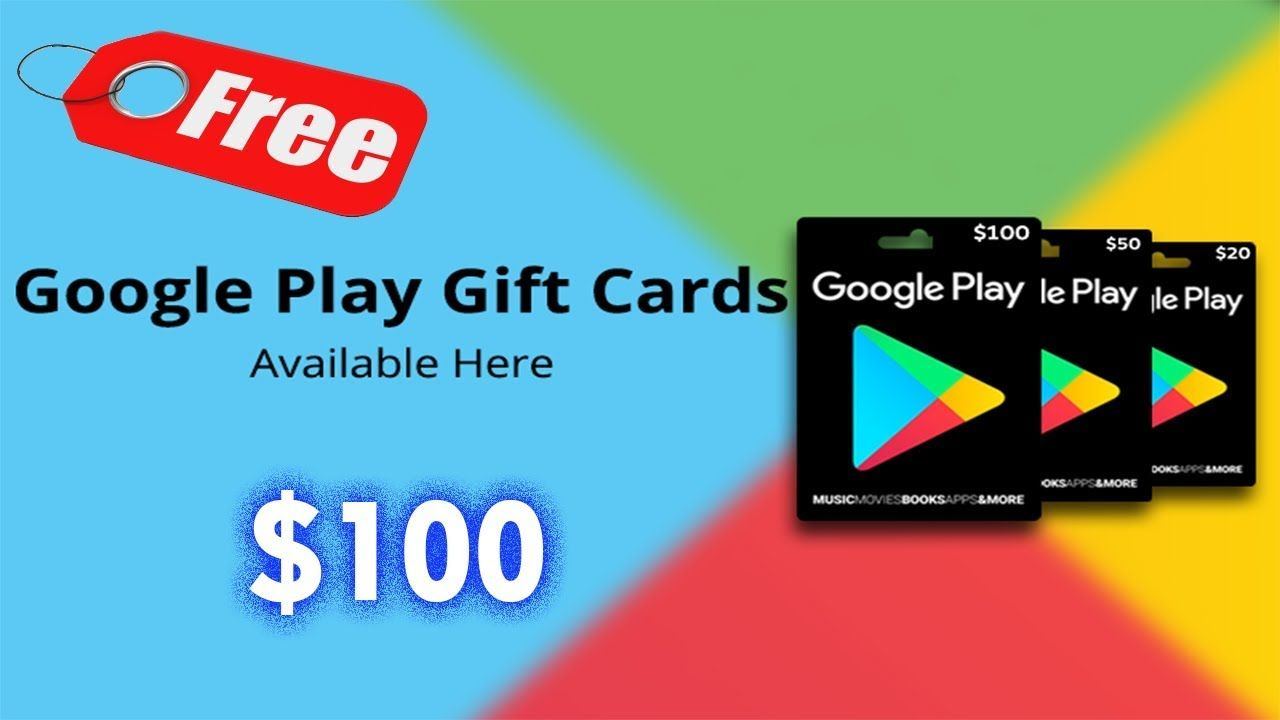 free gift card google play no human verification