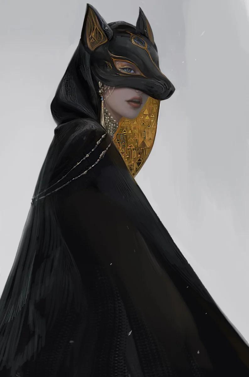 Тёмный пафос в иллюстрациях китайского художника