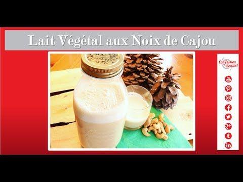Lait Végétal aux Noix de Cajou - Recette Saine Paléo  Le plus rapide et facile des laits maison à faire.  Pas besoin de le filtrer et tellement crémeux avec sa douce saveur de noix.    Vraiment, qui a besoin de lait de vache?!  #lait végétal #noix de cajous #noix de cajou #noix cajou #la confession du gourmet