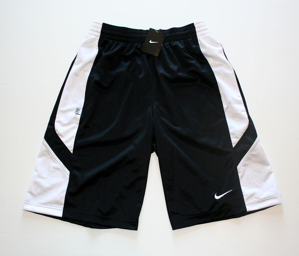 Nike Sportswear Reign Maker Men's Basketball Shorts Black/White #439229-011 #Nike #Athletic