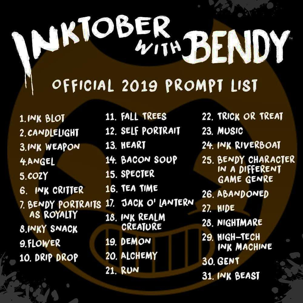Batdr Bendy Scary Horror Upcoming Game Ink