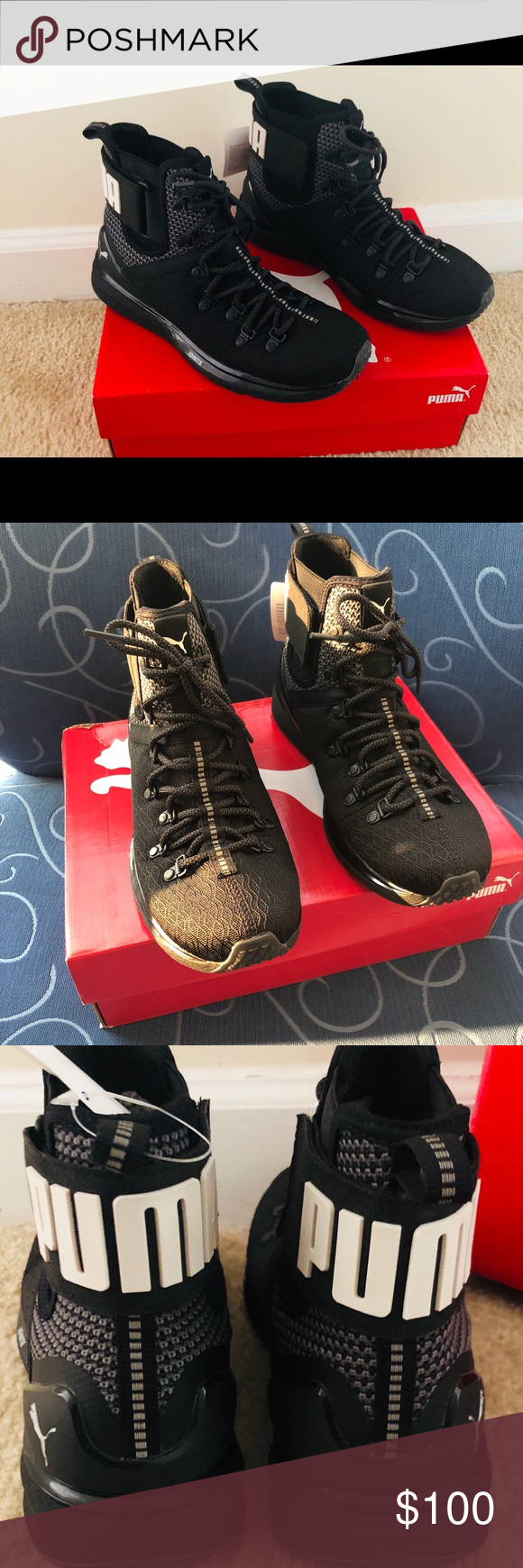 sports shoes 9023f 7b30d NEW PUMA LIMITLESS IGNITE Boot Men's 7.5 NEW IN BOX ...