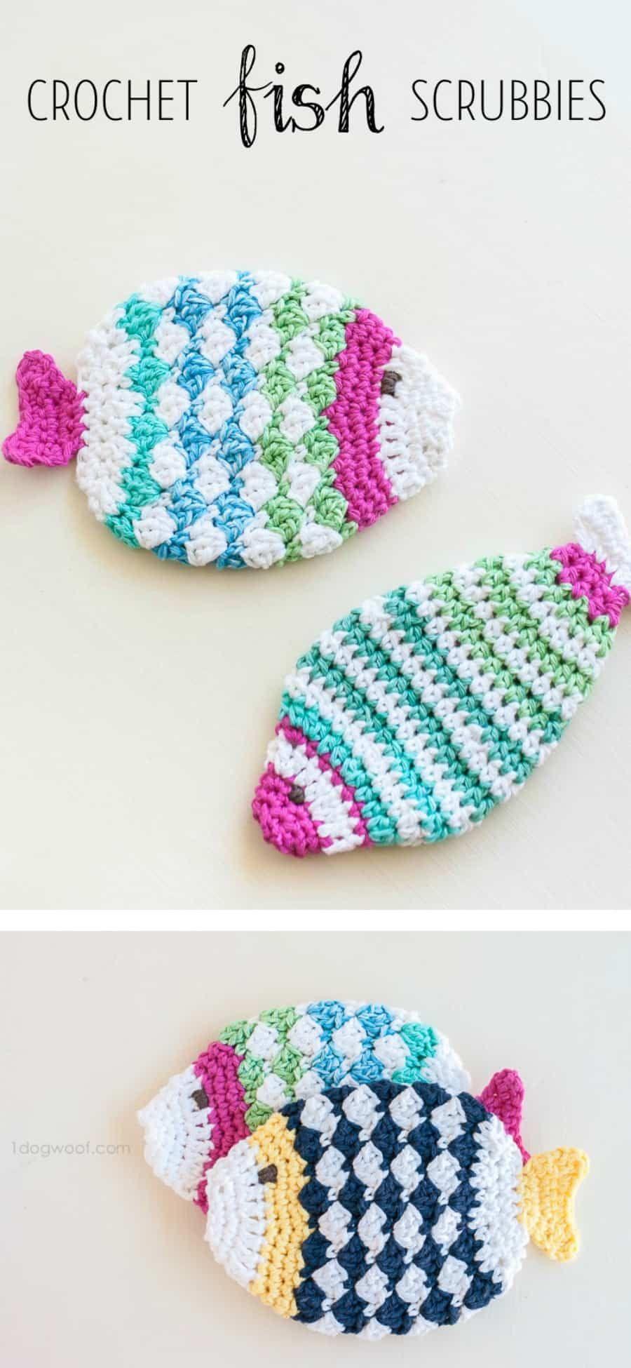 Crochet Scrubbies Patterns You\'ll Love Pinterest Top Pins | Crochet ...