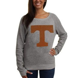 Tennessee Volunteers Ladies Knobi Fleece Sweatshirt - Gray