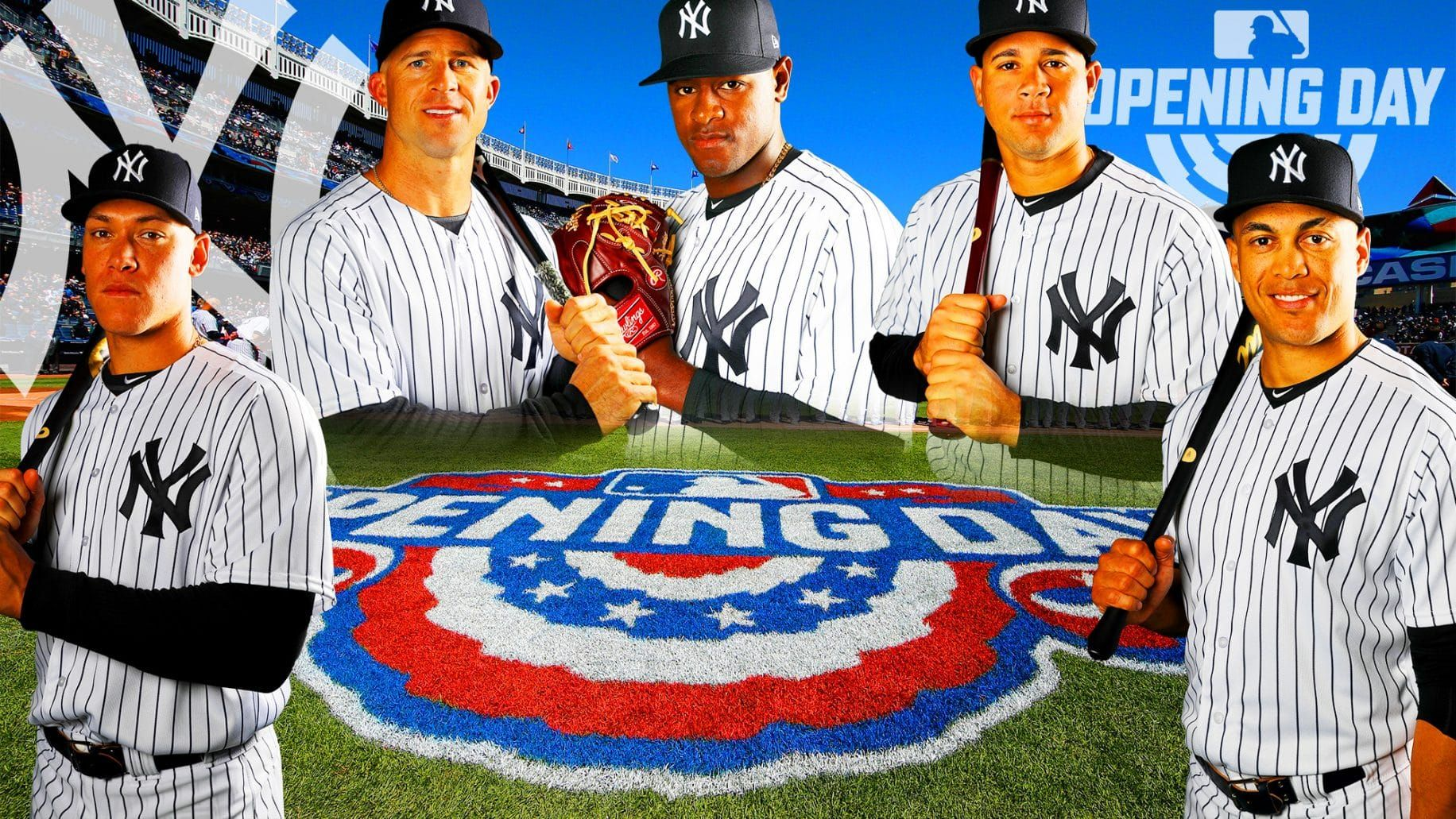 Yankees Predicted Opening Day 25 Man Roster Brings Many Surprises New York Yankees Yankees Opening Day