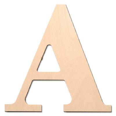 Wood Letters At Home Depot  Creative Craft Materials