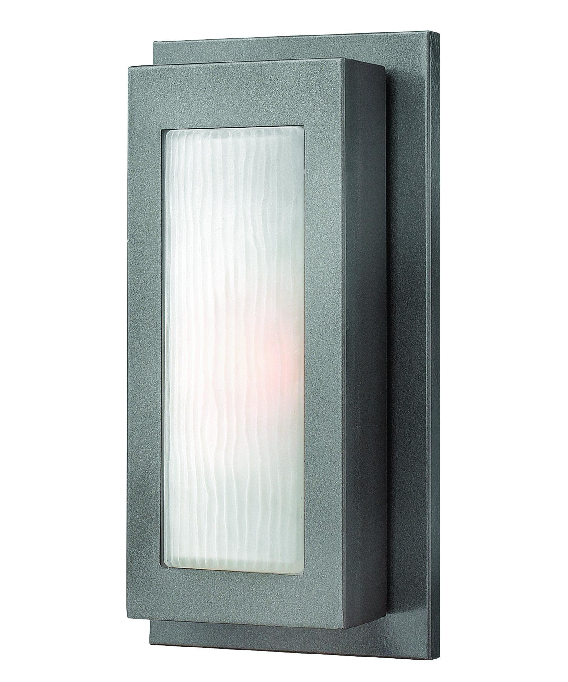 Hinkley lighting titan inch wide light outdoor wall light