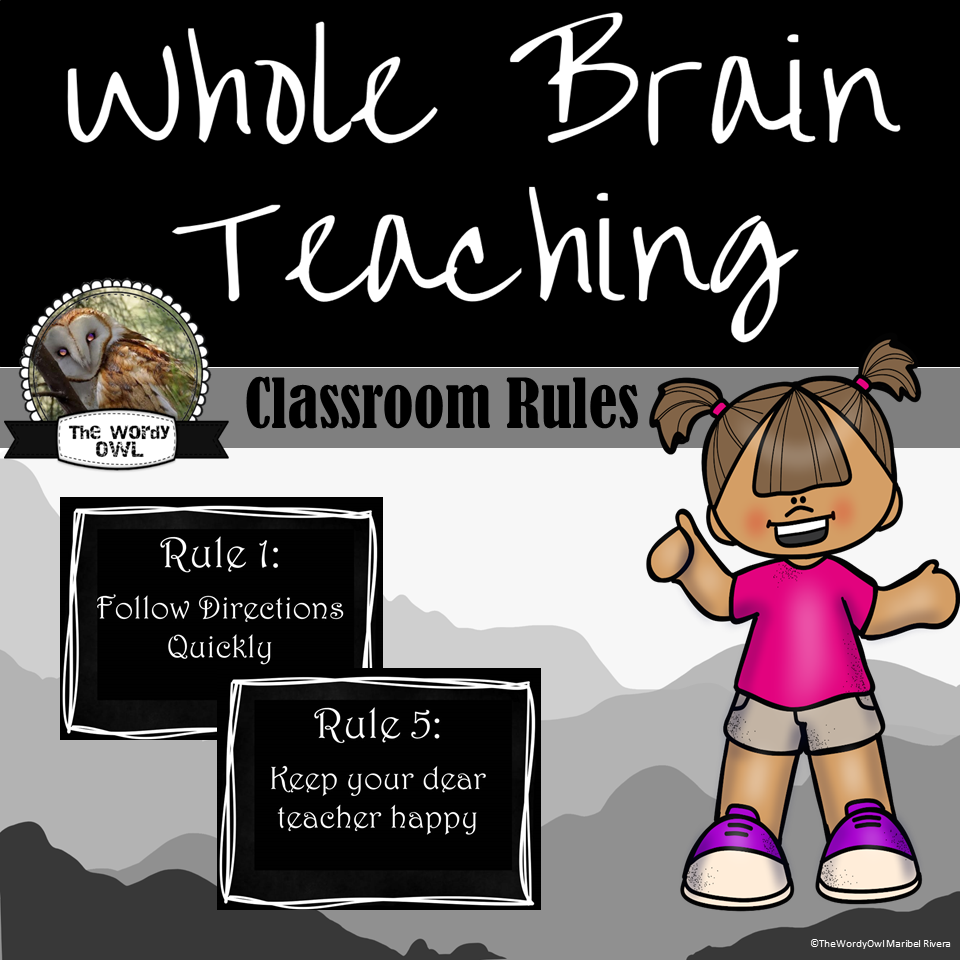This resource includes the five WBT classroom rules plus the diamond ...