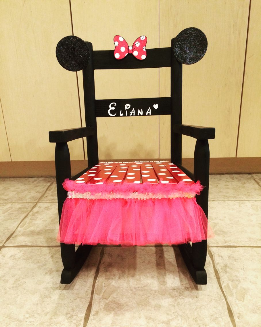 Exceptionnel Minnie Minnie Mouse Rocking Chair For Your Minnie Mouse Obsessed Little  One! Too Cute!!