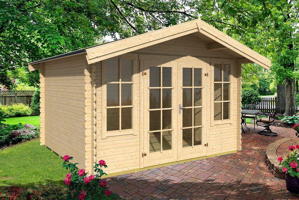 Nordic Holz Gartenhaus Kalmar 330 Bxt 381x408 Cm Online Kaufen Otto Sommerhaus Gartenhaus Haus